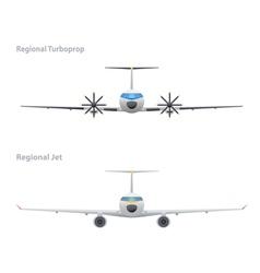 Jet and regional turboprop vector
