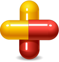pill vector image vector image