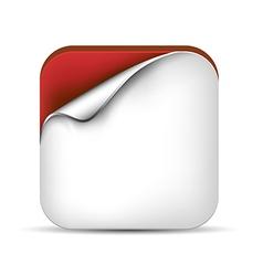 3d App Icon vector image