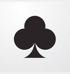 Club card icon vector