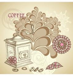 Coffee shop flyer vector