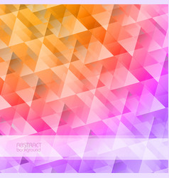 Grid mosaic abstract background vector