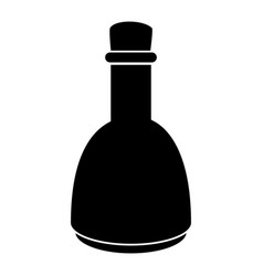 oil bottle spa product vector image
