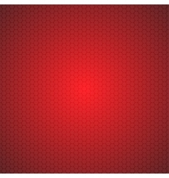 Red Mosaic Tile Honeycomb Background vector image