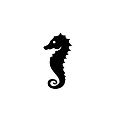 sea horse icon vector image