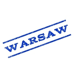 Warsaw Watermark Stamp vector