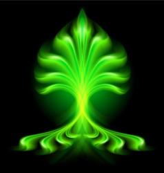 fair flow Green 01 vector image
