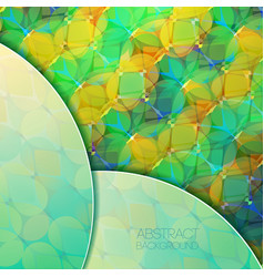 Light geometric colorful abstract background vector