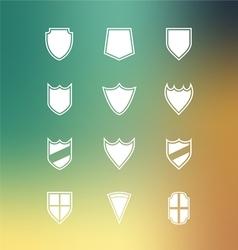 Set of Blank Badge vector image vector image