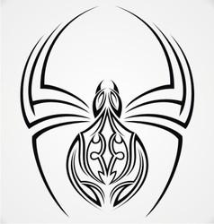 Spiders Tattoo Design vector image