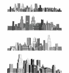 City blocks vector