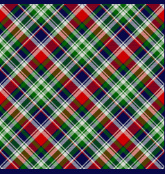 classic plaid seamless pattern vector image