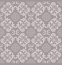 Floor tiles ornament gray pattern print vector