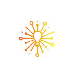Innovation share logo icon design vector