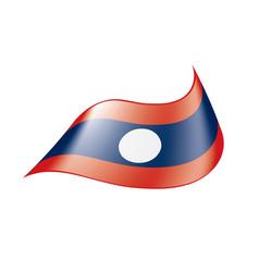 Laos flag vector