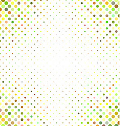Multicolored abstract dot pattern background vector