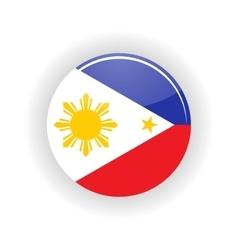 Philippines icon circle vector