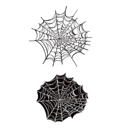 Spider webs vector