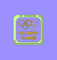 Sign symbol olympics games vector