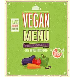 Vegetaruan2 vector image vector image