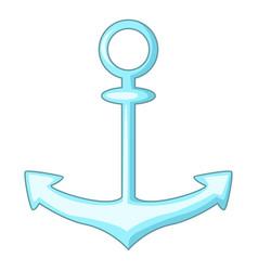 Anchor icon cartoon style vector