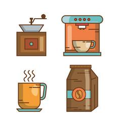 coffee vector image