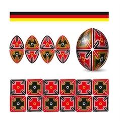 Easter egg folk pattern ornament vector