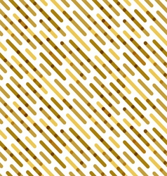 Flat background with golden diagonal lines vector