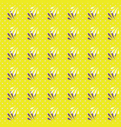 Geometric seamless pattern of vector