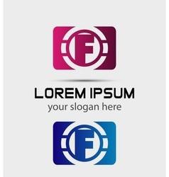Graphic elegant font symbol alphabet Letter vector