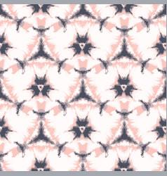 Lilac shibori tie dye sunburst flower circle vector