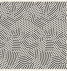 Organic irregular rounded lines seamless vector