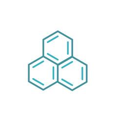 Science molecule logo vector