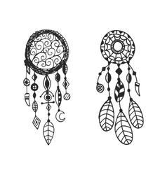 Tribal dream catcher vector image