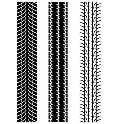 tyre treads 2 vector image