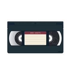 Vhs cassette case vector