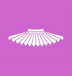 Ballet tutu isolated skirt ballerina vector