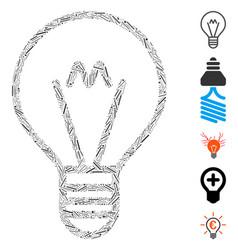 Dash mosaic hint lamp vector