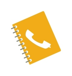 Directory notebook icon vector