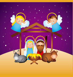 merry christmas related vector image