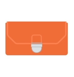 Purse wallet isolated vector image
