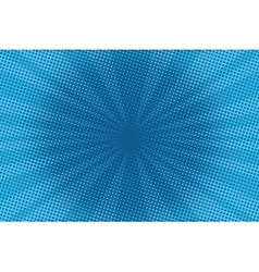 retro comic blue background raster gradient vector image