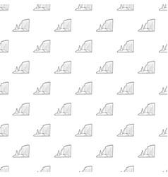 Sea cliff pattern seamless vector