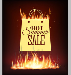Template design vertical banner with special sale vector