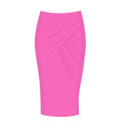 Wrap skirt model vector