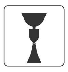 Trophy cup icon 17a vector image vector image