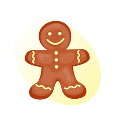Cookie gingerbread homemade breakfast bake cakes vector