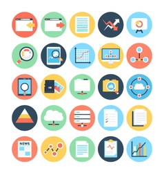 Data Science Icons 3 vector