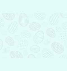 easter egg pattern color holiday eggs texture on vector image