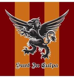 Griffin Emblem vector image